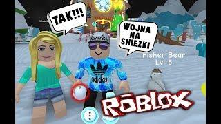 BATTLE of the SNOW! Snowman ☃ ROBLOX ️ Simulator ️ ☃