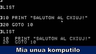 Mia unua komputio estis Apple 2+ | Esperanto vlogo