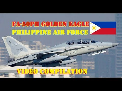 FA-50PH Golden Eagle Jet Fighter Philippine (Video Compilation)