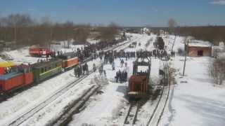 видео Музей паровозов в Ярославской области: описание, фото