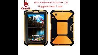 kcosit K927 Waterproof Tablet PC Android 7.1 4GB RAM 64GB ROM MSM8953 Octa Core 8