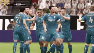 Fifa 18 supercoppa UEFA Empoli Juventus 4-3