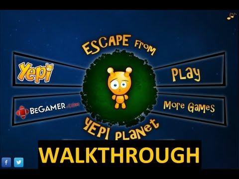 Escape From Yepi Planet Full Game Walkthrough