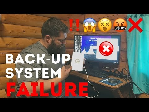 Hard Drive Backup fail (EP 12)