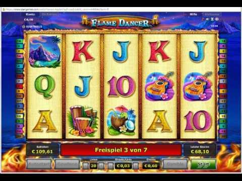 Игровой автомат Flame Dancer Deluxe онлайн / Игровые