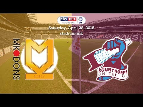 📺 Match Action: MK Dons 0-2 Iron