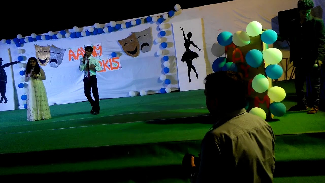 Anchoring Script (mix)   AAYAM 2K15   FRESHERS PARTY   UTD   RTU