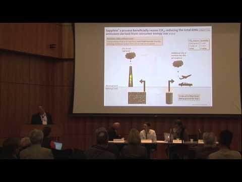 Tim Zenk, Transportation fuels from algae -- Sapphire Energy's Integrated Algal Bio-Refiner