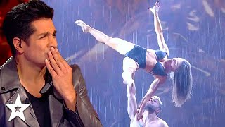 OUTSTANDING Dance Duo Carry On After Terrible INJURY on Got Talent France 2020 | Got Talent Global