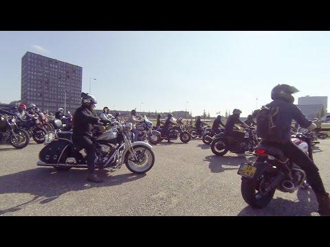 DGR 2016 Rotterdam - Distinguished Gentleman's Ride, Frontcam