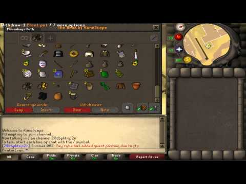 Runescape 2007 - Hacked for Bank...