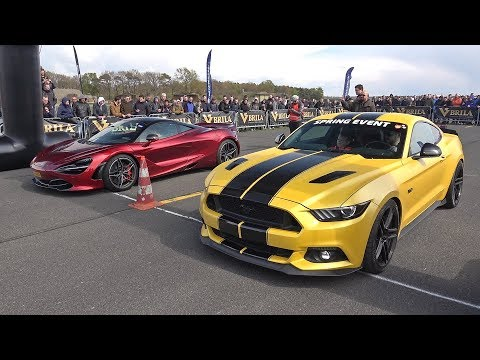Ford Mustang GT vs McLaren 720S vs Mercedes-AMG C63S Coupe