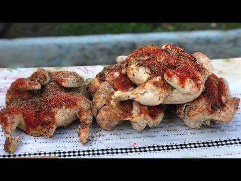 Узбекская хитрость!!!Как приготовить тандырную курицу без тандыра.Узбекистан.