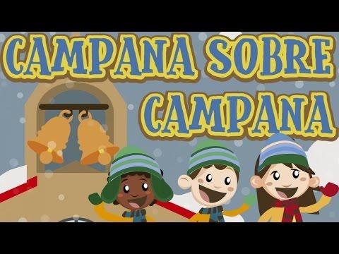 Imagenes De Villancicos Campana Sobre Campana.Villancicos En Dibujos Campana Sobre Campana