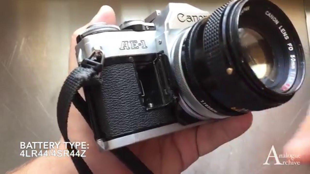 Battery Swap: Canon AE-1