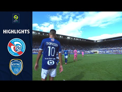 Strasbourg Troyes Goals And Highlights