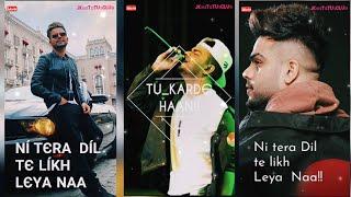 #Fullscreen Karde Haan Akhil New 2019 Punjabi song whatsapp status video by #jkbstatusclub