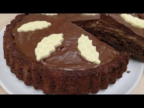gÂteau-fondant-poire-chocolat-facile-(cuisinerapide)