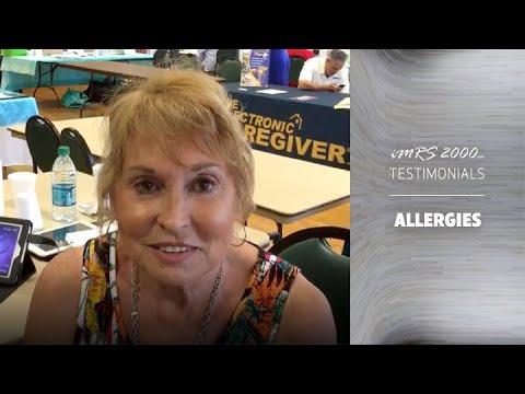 iMRS 2000 PEMF for Allergies / Allergy Testimonial