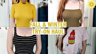 FALL/WINTER TRY-ON HAUL | MEGHAN HUGHES