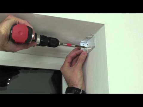 Installing wood blinds - inside mount woodslat blinds