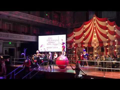 Big Red Ball Hula Hooping by Grace Good