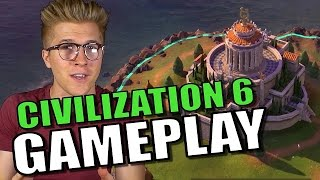 Civilization 6 Gameplay Footage with Commentary [Civ 6]
