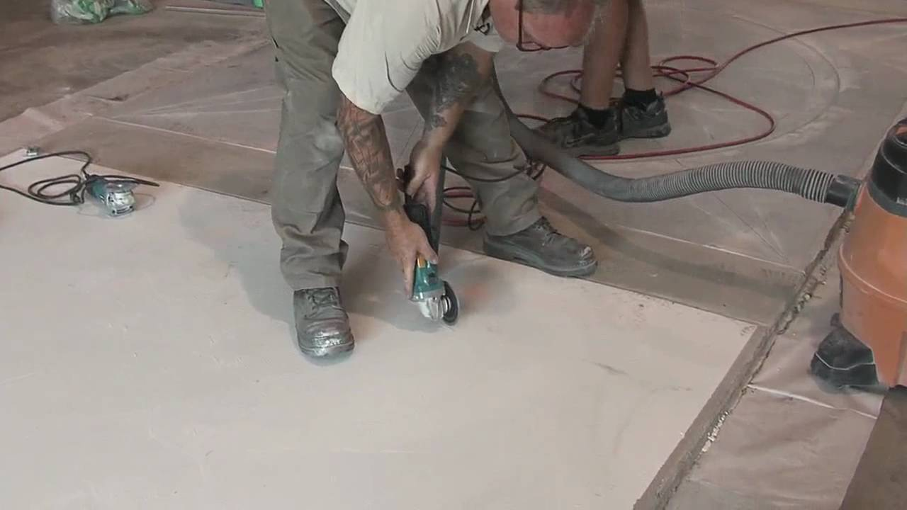 Concrete Hand Grinders Youtube
