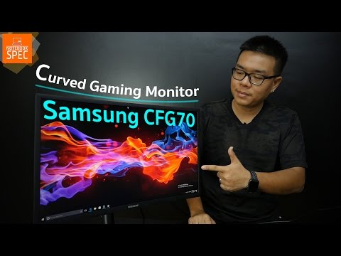 [Review] Samsung CFG70 - Curved Gaming Monitor สุดเจ๋ง คอเกม
