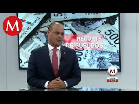 Recorte salarial afectaría operación de gobierno /Entrevista a Fernando López