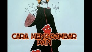 HOW TO DRAW PEIN AKATSUKI