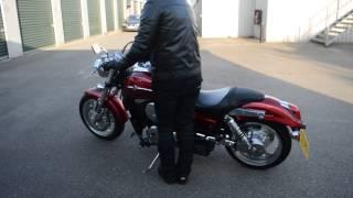 Kawasaki Mean Streak VN1500 cruiser