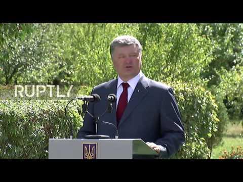Ukraine: Poroshenko reports new wave of military mobilisation in E. Ukraine