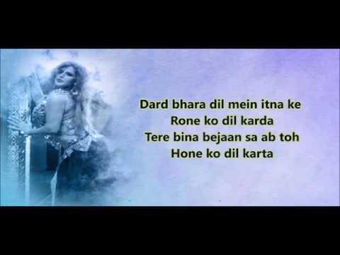 Wajah Tum Ho - Mahi Ve Lyrics Video Song |...