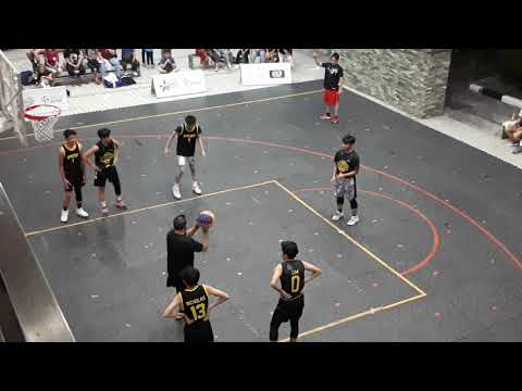 Ralph Borja #15 at Shooting Star Brunei in Times Square