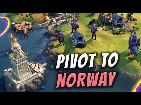 Hey, Norway, Miss Me? - Civilization 6 Gathering Storm Deity Part 12