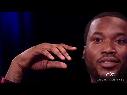 Meek Mill Sits Down With Angie Martinez After 169 Days Behind Bars