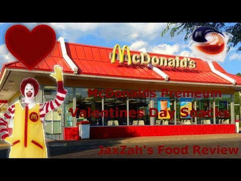McDonalds Valentines Day candy (Review)