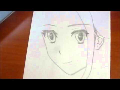 how to draw anime girl quick and easy youtube
