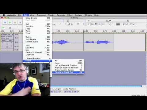 Audacity Loop Tutorial : How to Loop Sound Samples