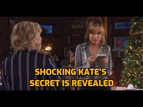 SHOCK Kate's Secret Is Revealed - She Is Not A Real Waitress: Days Of Our Lives Spoilers