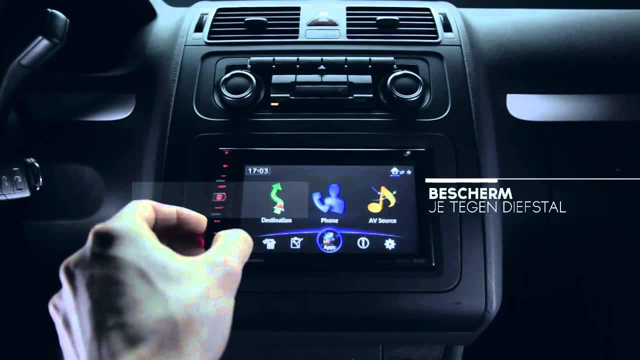 Welp Pioneer AVIC F950 Auto Navigatie en Audiosysteem - YouTube JK-05