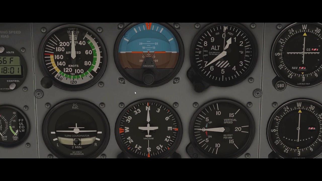 Flight Simulator Lesson 1: Flight Instruments (NEWLY REDONE!)