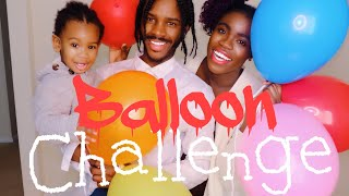 EXTREME BALLOON POP CHALLENGE!!! Hey guys we are back on YouTube ag...