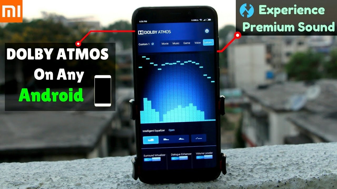 Install DOLBY ATMOS On Any Mi Phone ft  Redmi Note 5/Note 5 Pro    Or Any  Android Phone