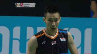Dubai World Superseries Finals 2017 | Badminton F M5-MS | Viktor Axelsen vs Lee Chong Wei