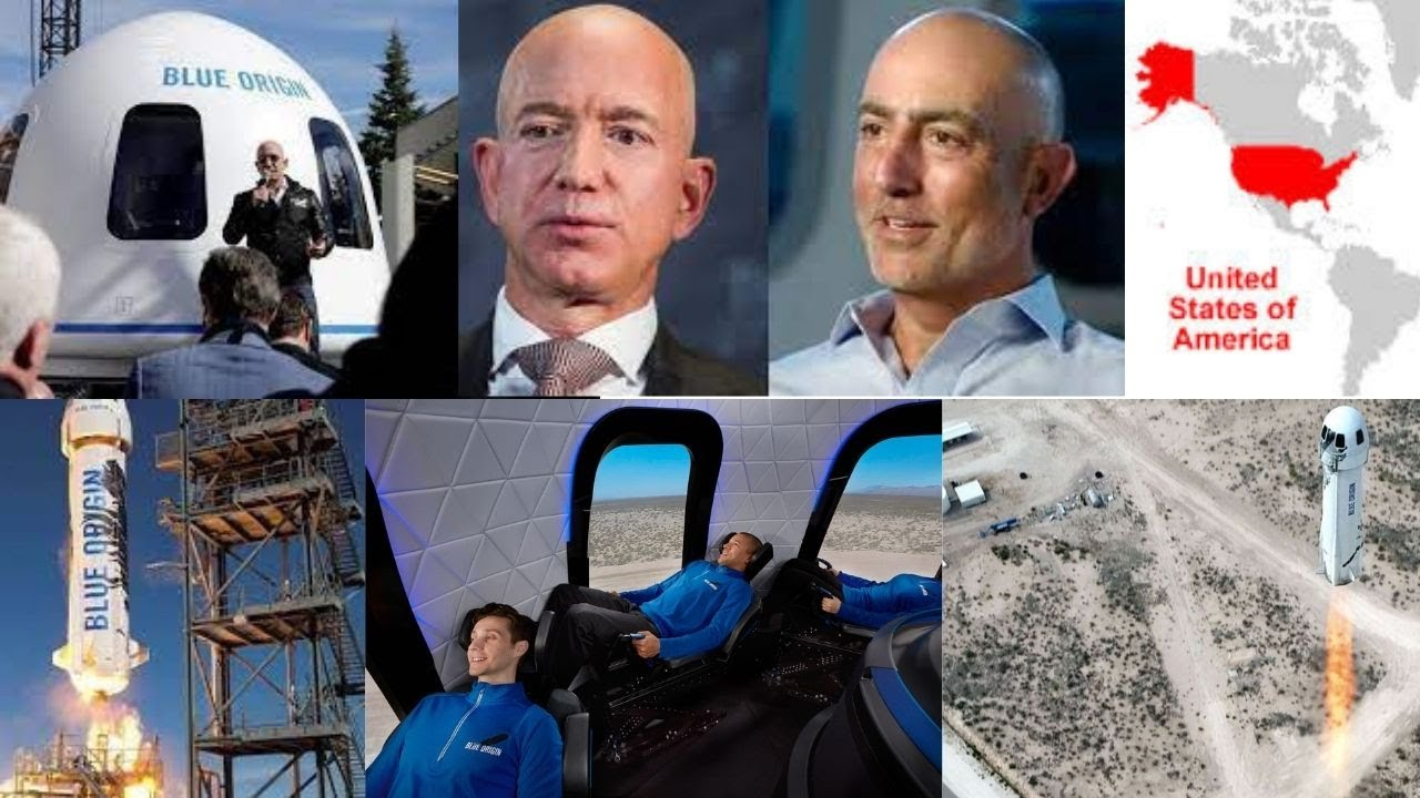 Bidding for seat on Blue Origin's 1st human spaceflight hits $3.5M