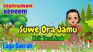 INSTRUMEN / KARAOKE - Lagu Daerah SUWE ORA JAMU