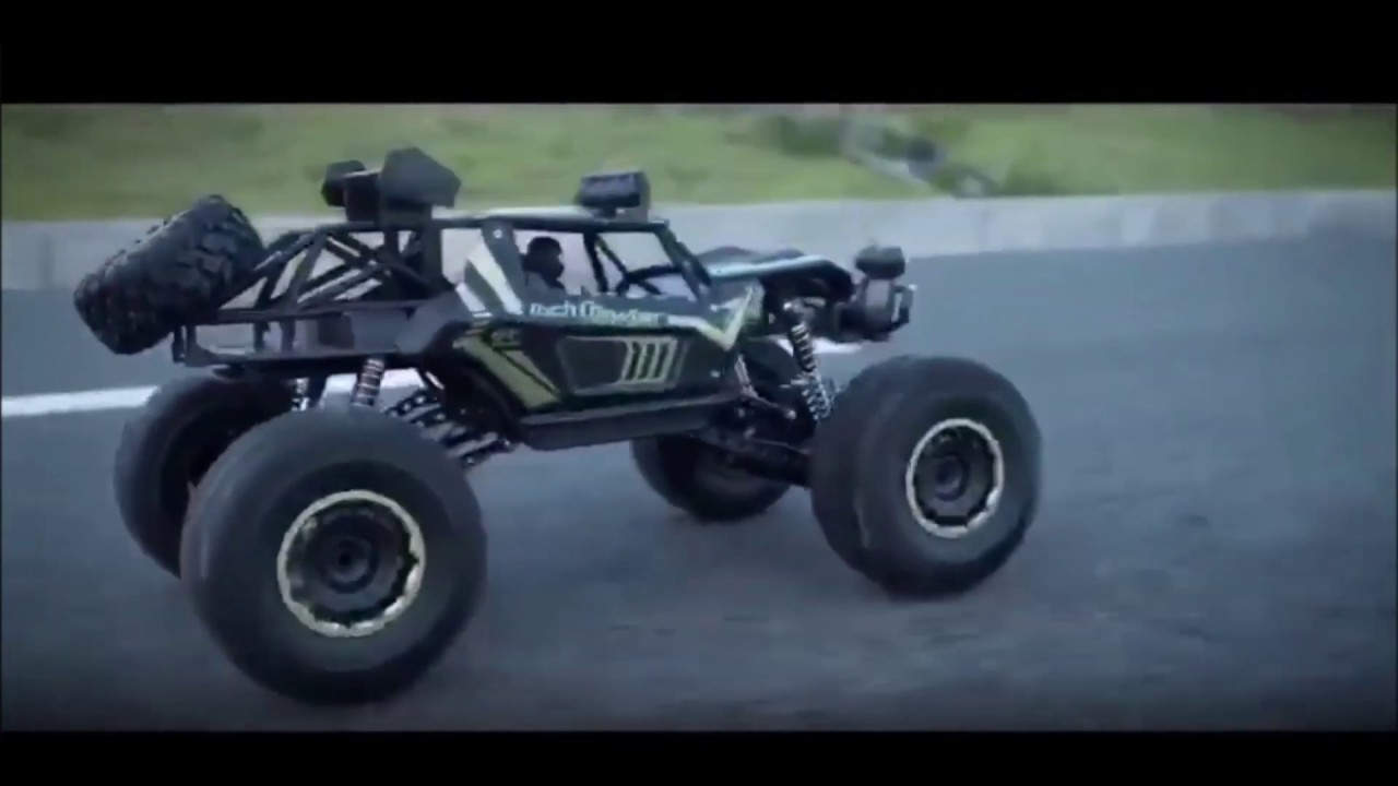 RC TRUCK 1.8 LARGE 4X4 4WD 2.4G HIGH SPEED BIGFOOT REMOTE CONTROL