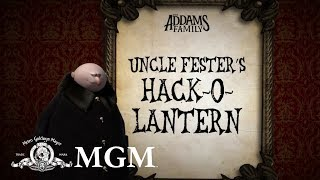 THE ADDAMS FAMILY | DIY: How To Make Uncle Fester's Pumpkin | MGM